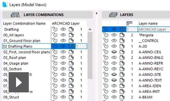 graphisoft archicad características actualización de definición de vista semcocad