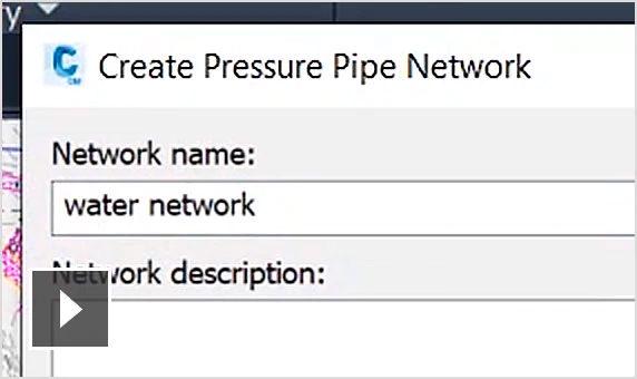 autodesk civil 3d características red de presión semcocad