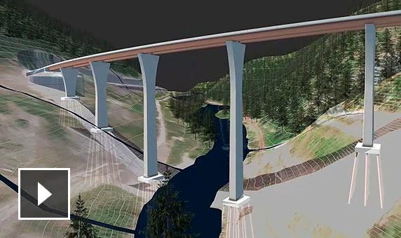 autodesk infraworks caracteristicas diseño de puentes semcocad