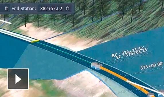 autodesk infraworks caracteristicas modelado de corredores semcocad