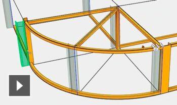 inventor características mejoras en módulos de estructuras metálicas semcocad autodesk