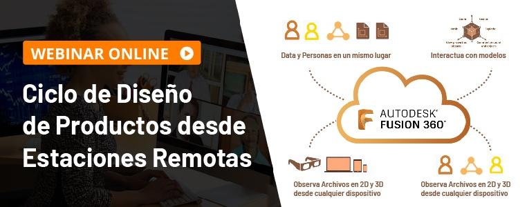 webinar autodesk ciclo de diseño de productos desde estaciones remotas semcocad