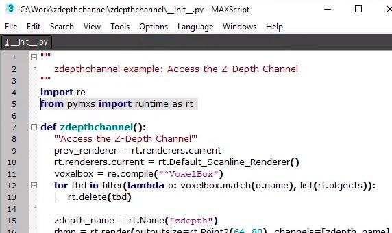 3ds max caracteristicas creacion de script en phyton 3 semcocad autodesk
