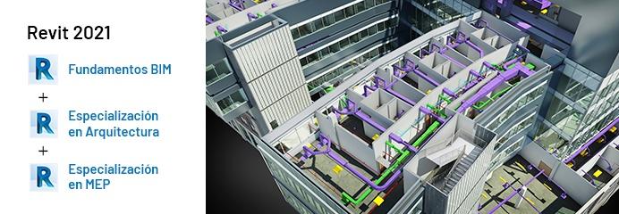 Revit Fundamentos BIM, Revit Arquitectura, Revit MEP, Autodesk 2021, semcocad